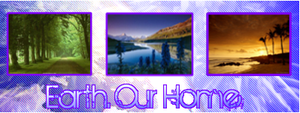 Earth Banner by klll100