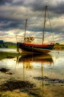 Fishing boat by kakobrutus