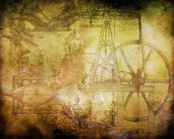 Steampunk Backdrop by 4U2C-aka-Shane