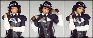 Wild West Steampunk (Lady Jacqueline) by MakeupSiren