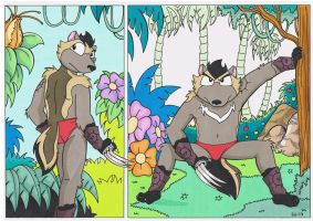 clyde in the jungle by sprucehammer
