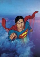 Superman Reeves by StephaneRoux