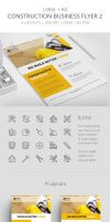 Construction Business Flyer 2 by survivorcz