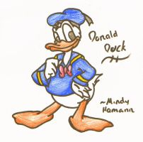 Donald Duck by The-Light-Source