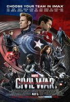 New Captain America: Civil War IMAX Poster by Artlover67
