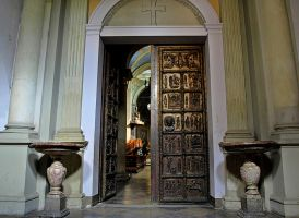Cathedral Basilica of the door by HeretyczkaA