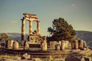 Greece - Delphi - Tholos - 01 by GiardQatar