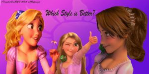 Which Style is Better? ( VOTE NOW!!! ) by x12Rapunzelx