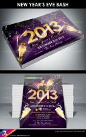 New Years Eve Bash Flyer Templates by AnotherBcreation