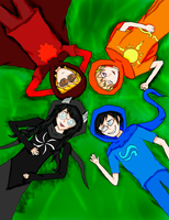 Homestuck Kids God Tier by Sakura-Sally