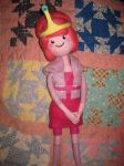 My  Needle Felted Princess Bubblegum by CatsFeltLings