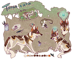 Touca and nom Ref by poppyng