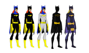 Batgirls by jsenior