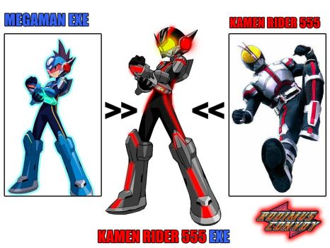 2009 Kamen Rider 555 EXE ver. by blueraven85
