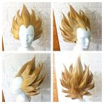 Super Saiyan Vegeta Wig Commission by red-cluster