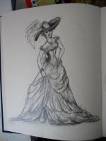 Sketch of La Diablesse by bexfoster