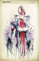 Mass Effect Mordin Saucy by RobDuenas