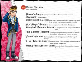 Ever After High - Dexter Charming's Full Bio v2 by cjlou-the-bejeweler