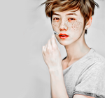 Luhan. Freckles by bubble-min