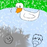 The Central Park Duck by The7thLoonatic