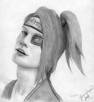 Deidara closeup by PirateCaptainJess