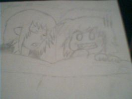 amu finding ikuto in her bed by sarah00187