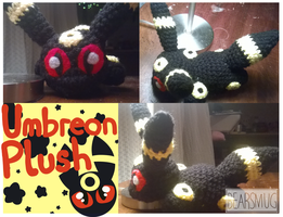 Umbreon Plush :: price lowered by BearSmug