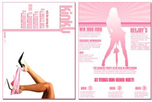 Flyer Kinky by Eclips-Design