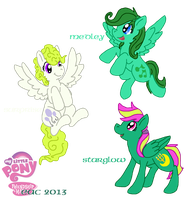 MLP-SD Background Ponies 2 by rosa-pegasus