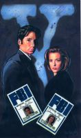 Xfiles with Badge by ssava