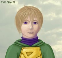 Golden Sun - Ivan by Steffel