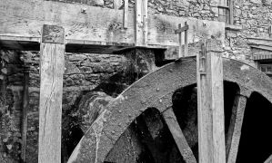 Mill wheel by UdoChristmann