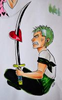 Zoro's Valentine's day by LeTWork