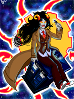 Big Ball of Timey-Wimey Stuff by Aprilequinox