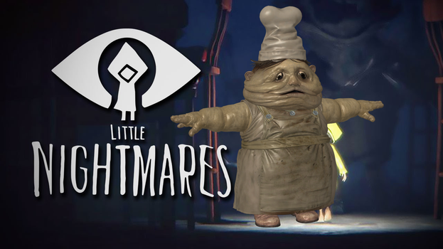 LITTLE NIGHTMARES - CHEF by Oo-FiL-oO