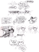 beatle comic - sandwich rage by Kuri-ishi