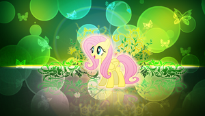 Fluttershy Wallpaper by ErsatzNomenclature