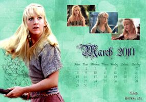 Calendar March 2010 by Aphrodian