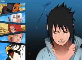 Sasuke cry? by Petlefeu
