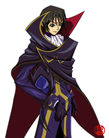 R.R - Lelouch vi Brittania by rithgroove