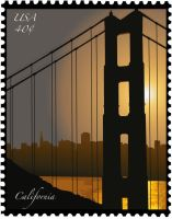SP: Stamp - California by EdElricsGirl