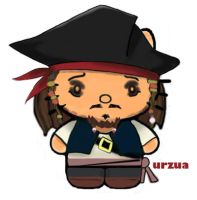 jack sparrow kitty by rancid1881