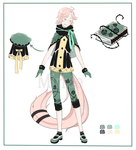[CLOSED] Adoptable Auction: Bookworm by Mirrae