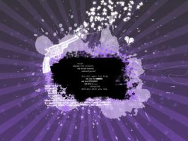 Purple Emo Wallpaper by shesta713