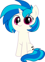 Vinyl Scratch (DJ P0N-3) Vector by CrimsonBeat