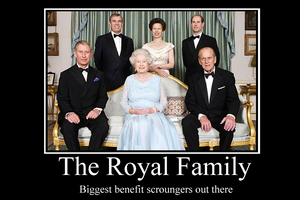 Royal Family demotivator by Party9999999