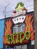 Tatoo shop in london by Nicothelord
