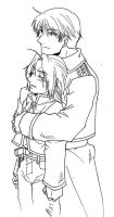 FMA - Hold you tight by Hikaru9