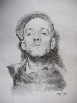 Michael Stipe by GreenBass