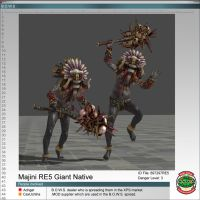 Majini RE5 Giant Native by Adngel